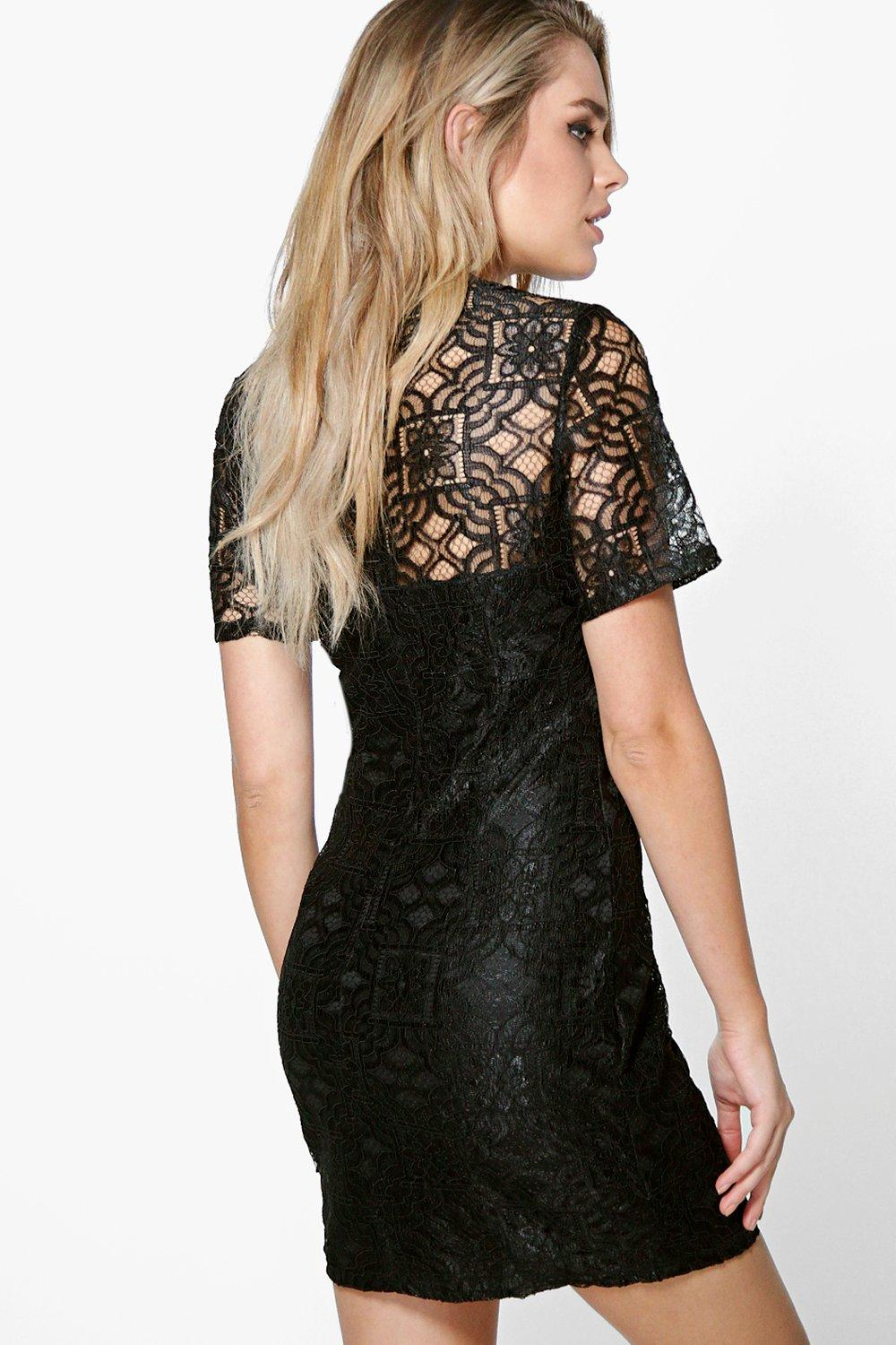 Ivy all over lace dress