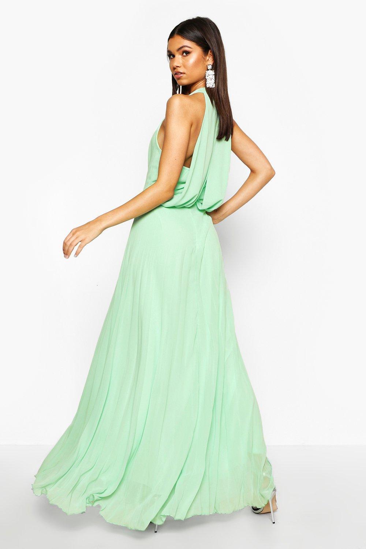 Innovative  About Boohoo Womens Boutique Maya Embellished Chiffon Maxi Dress