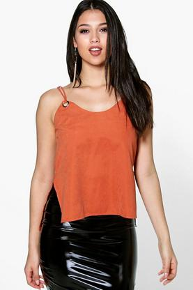 Lucy Suedette Strappy Cami