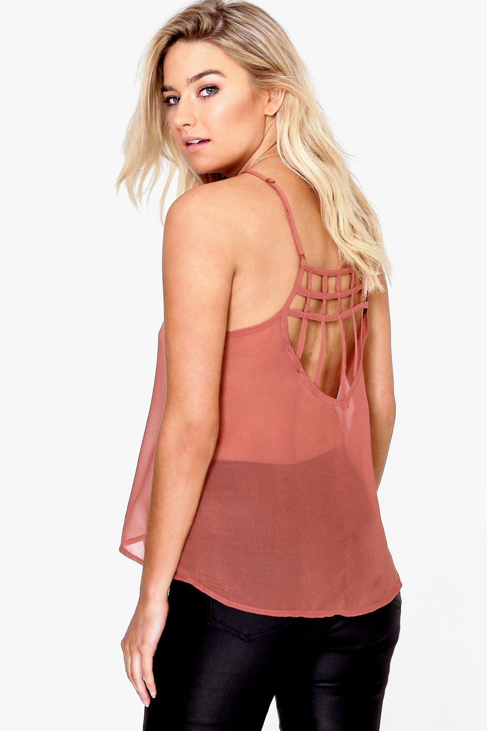 Imogen Caged Back Cami