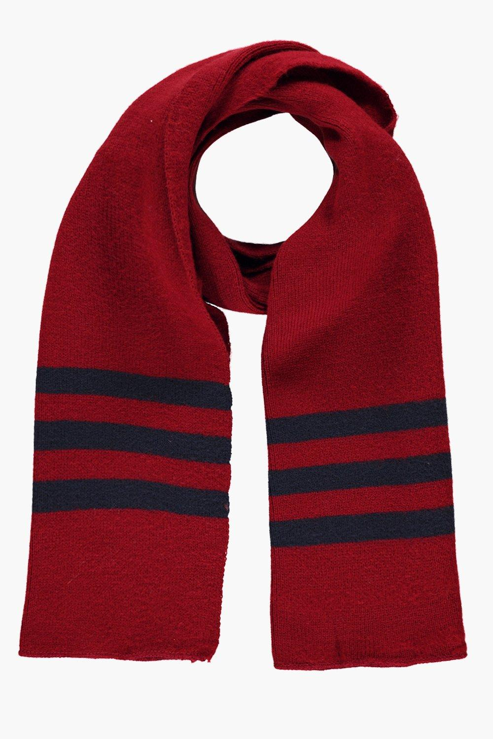 Eve Stripe Edge Supersoft Blanket Scarf