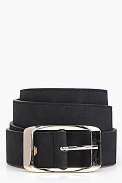 Harriet Suedette Chunky Boyfriend Belt