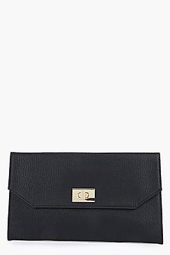 Eliza Twist Lock Clutch Bag