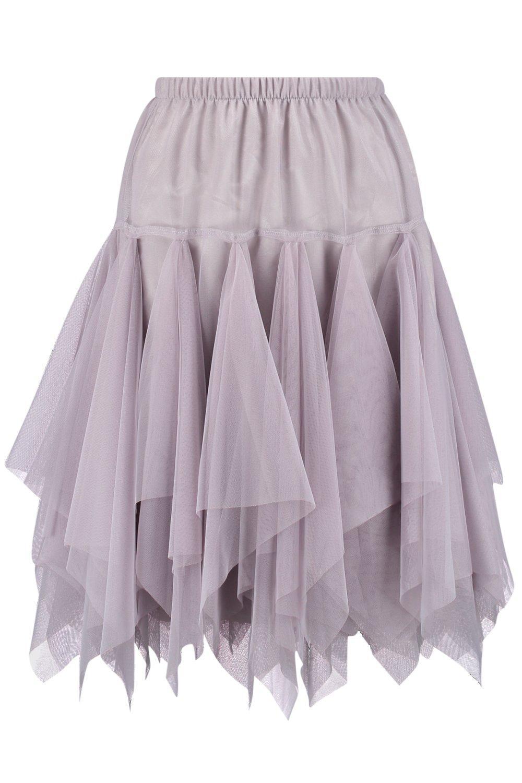 boohoo womens zofia layered bohemian tulle midi skirt ebay