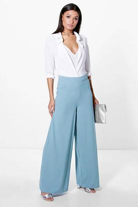 Ira Full Wide Leg Floor Sweeping Trousers