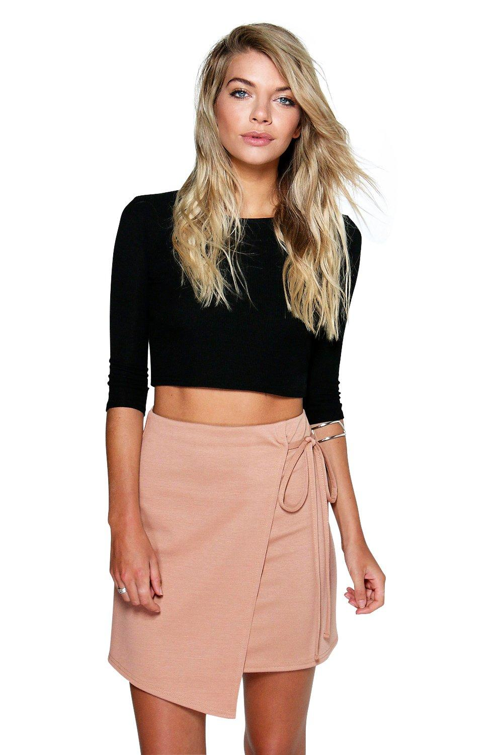 Marnie Tie Side Mini Skirt