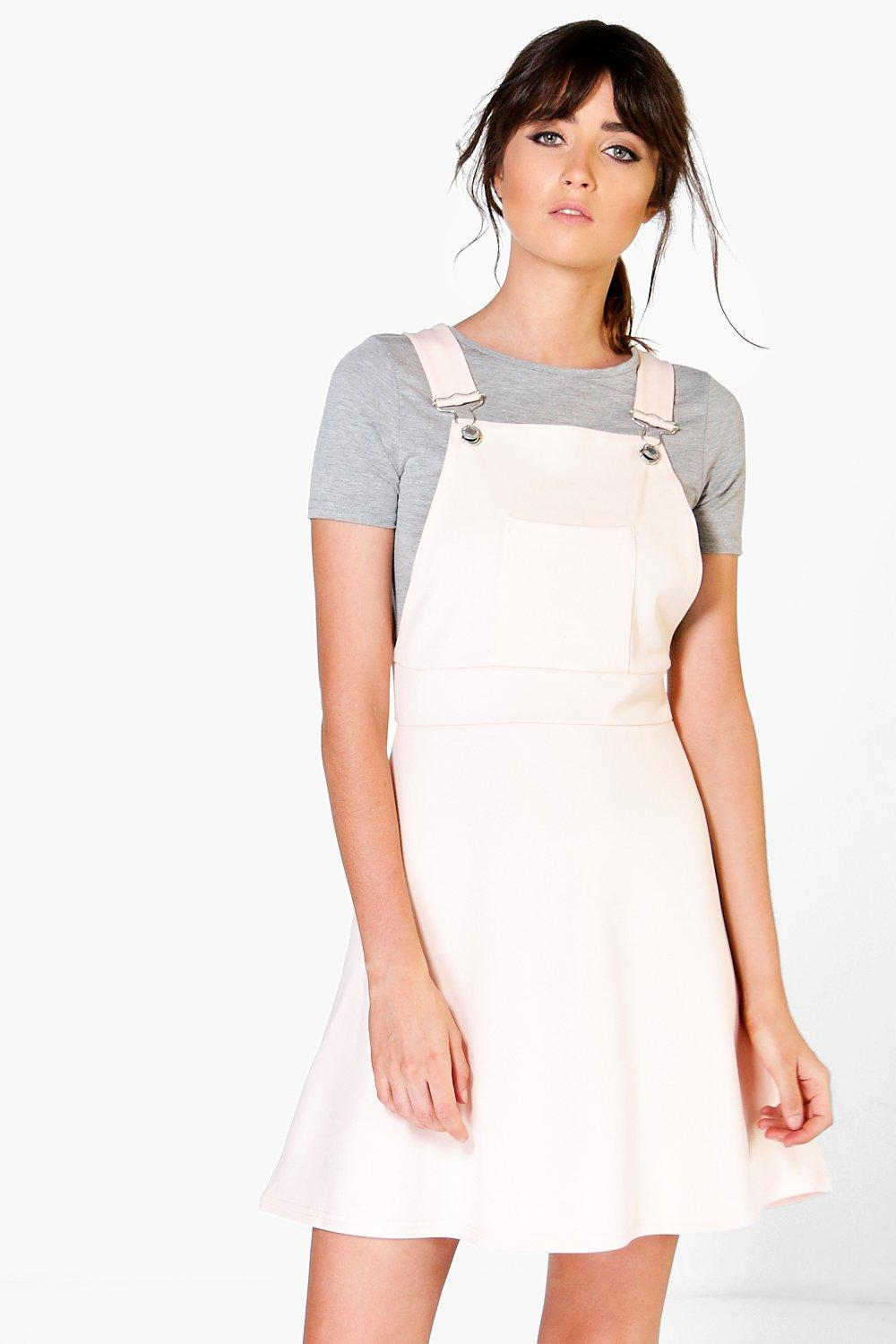 Tanya Pocket Pinafore A-Line Dress
