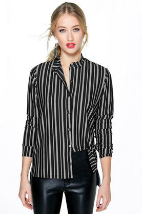Sofia Stripe Button Through Shirt