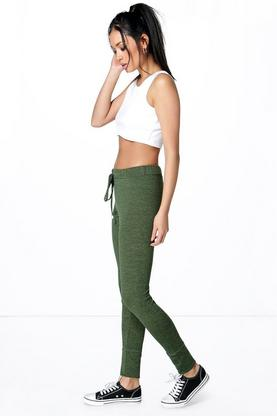 Brooke Low Rise Skinny Fit Melange Joggers