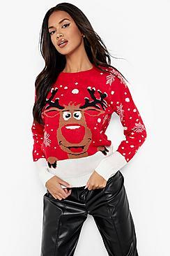Reiny Reindeer Christmas Jumper