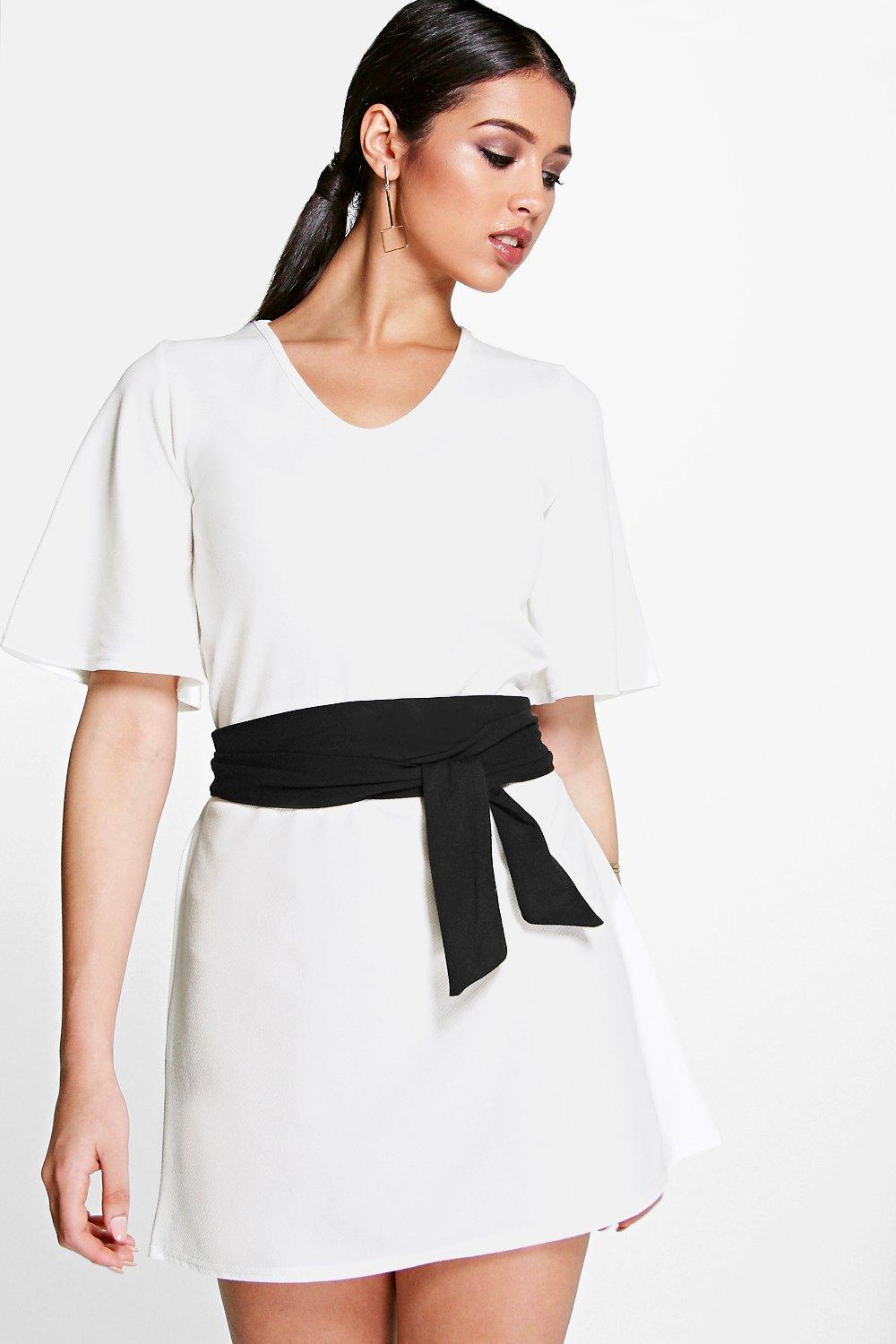 Corina Obi Belted Shift Dress