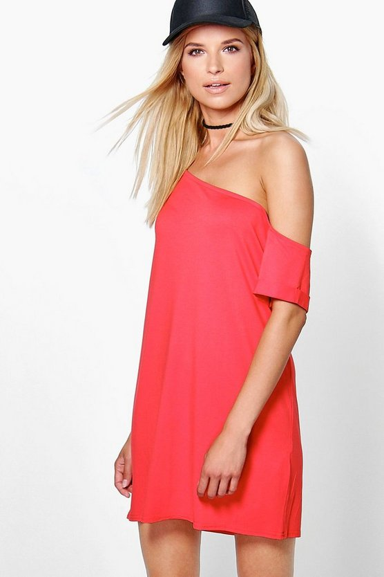 Cara Off The Shoulder Slouchy Dress