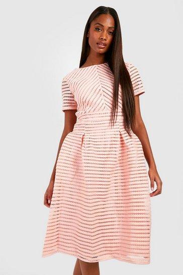 Blush Boutique Full Skirted Prom Midi Dress