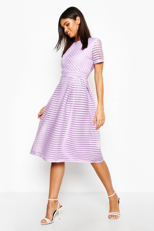 Zaira Boutique Full Skirted Prom Midi Dress | Boohoo