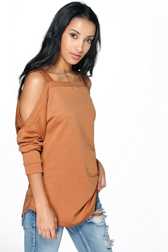 Maisie Oversized Cold Shoulder Sweat