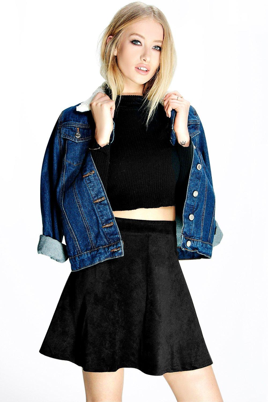 Remi Cord Full Skater Skirt