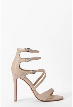 Lara Multi Strap and Buckle Stiletto