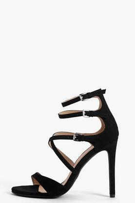 Rosa Multi Strap Buckle Stiletto