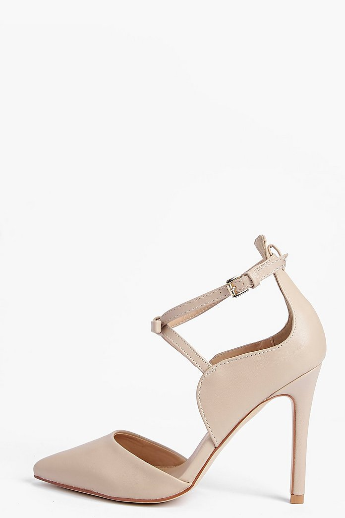 Paige Pointed Cross Strap Court