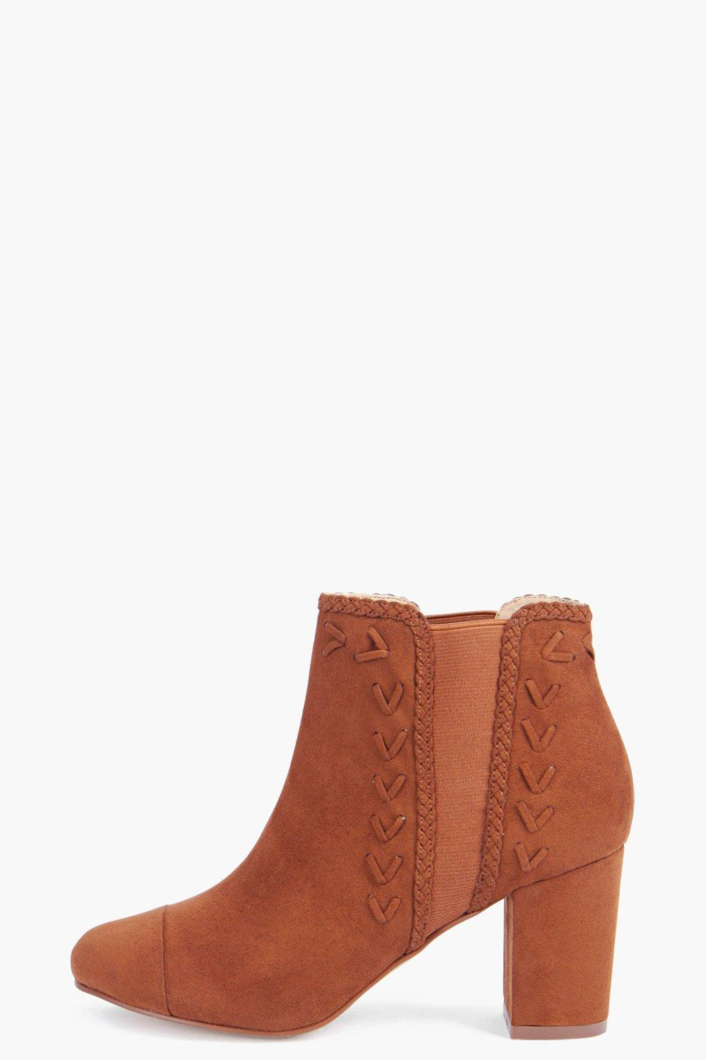 Millie Plaited Detail Boot