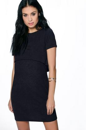 Tanya Double Layer Shirt Dress