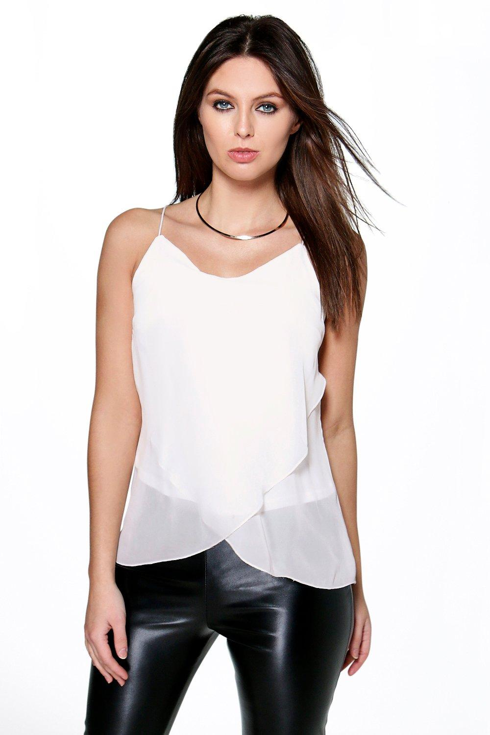 Michelle Double Layer Woven Cami