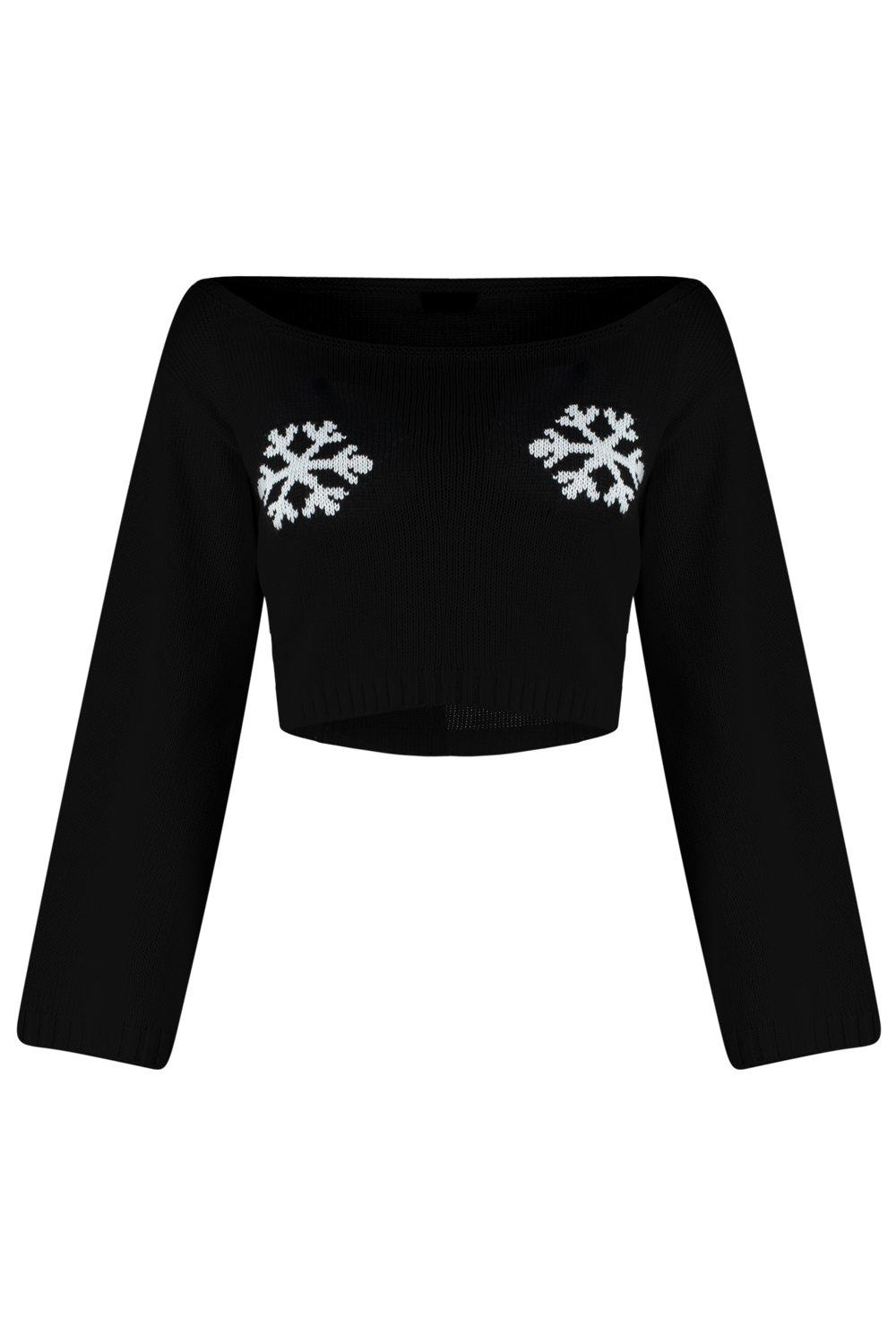 Image result for sara snowflake bell sleeve jumper