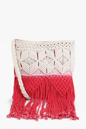 Maya Ombre Crochet Cross Body Bag