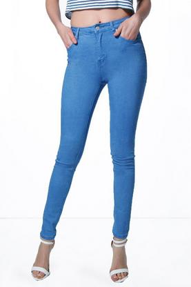 Kate 5-Pocket High Rise Blue Skinny Jeans