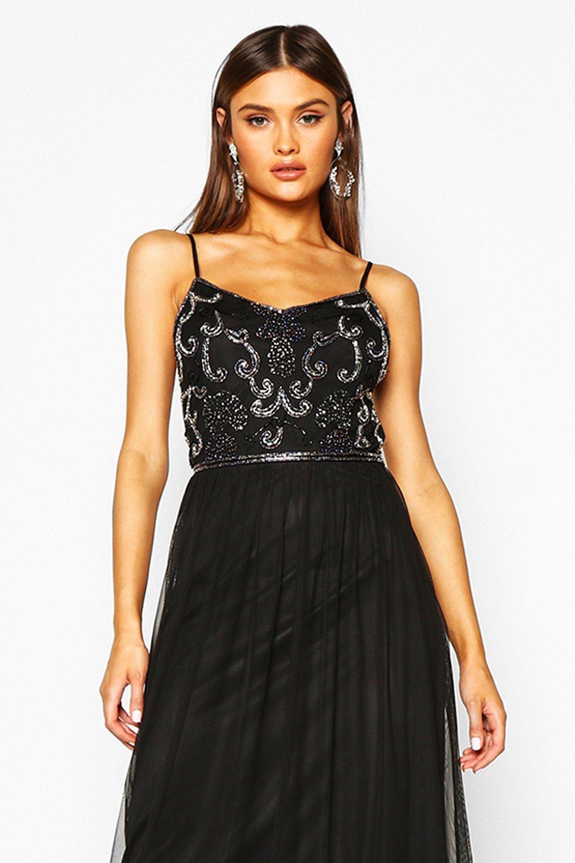 Boutique Embellished Prom Maxi Dress | Boohoo