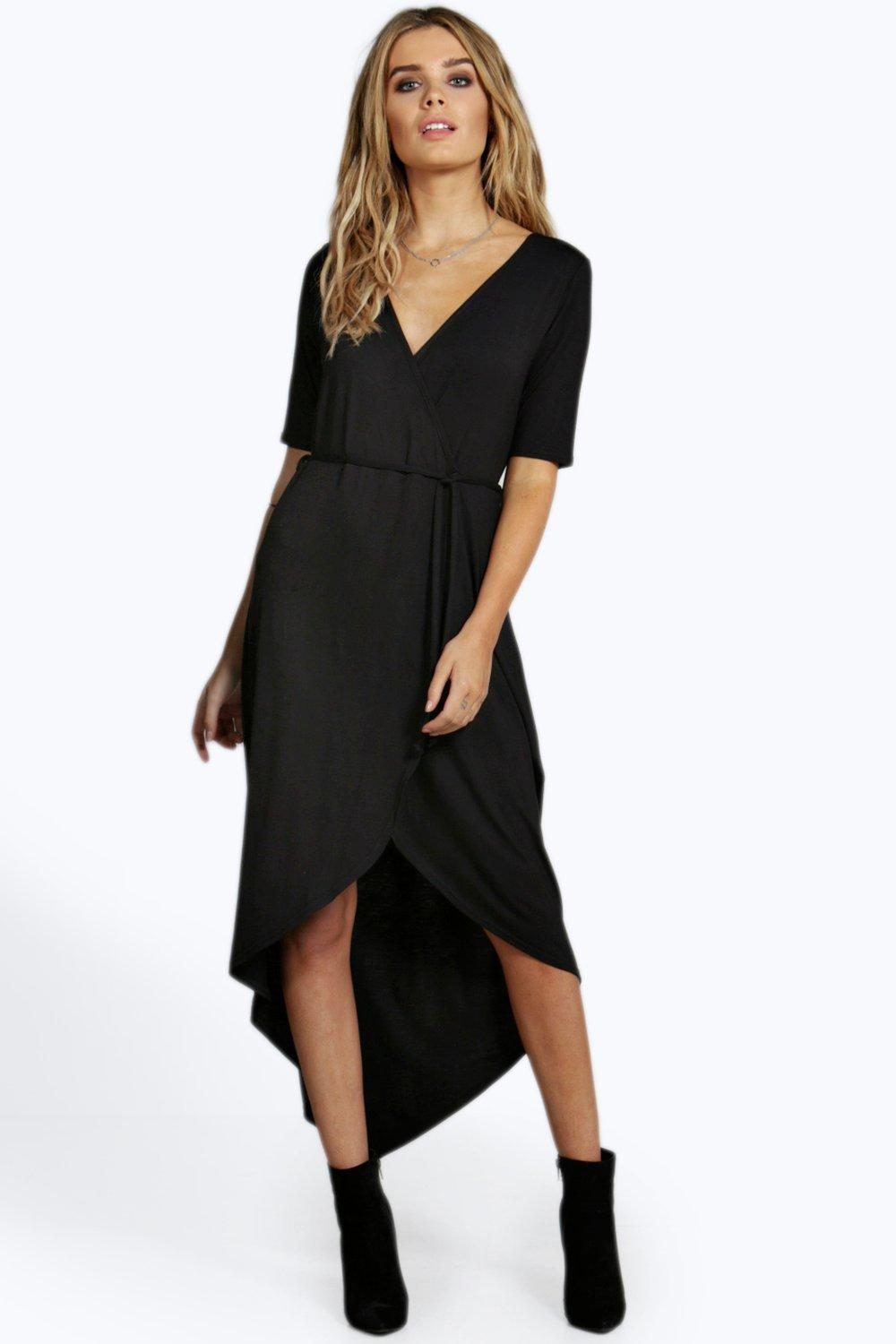 Wrap Dresses | Tie Waist & Wrap Around Dress at Booho