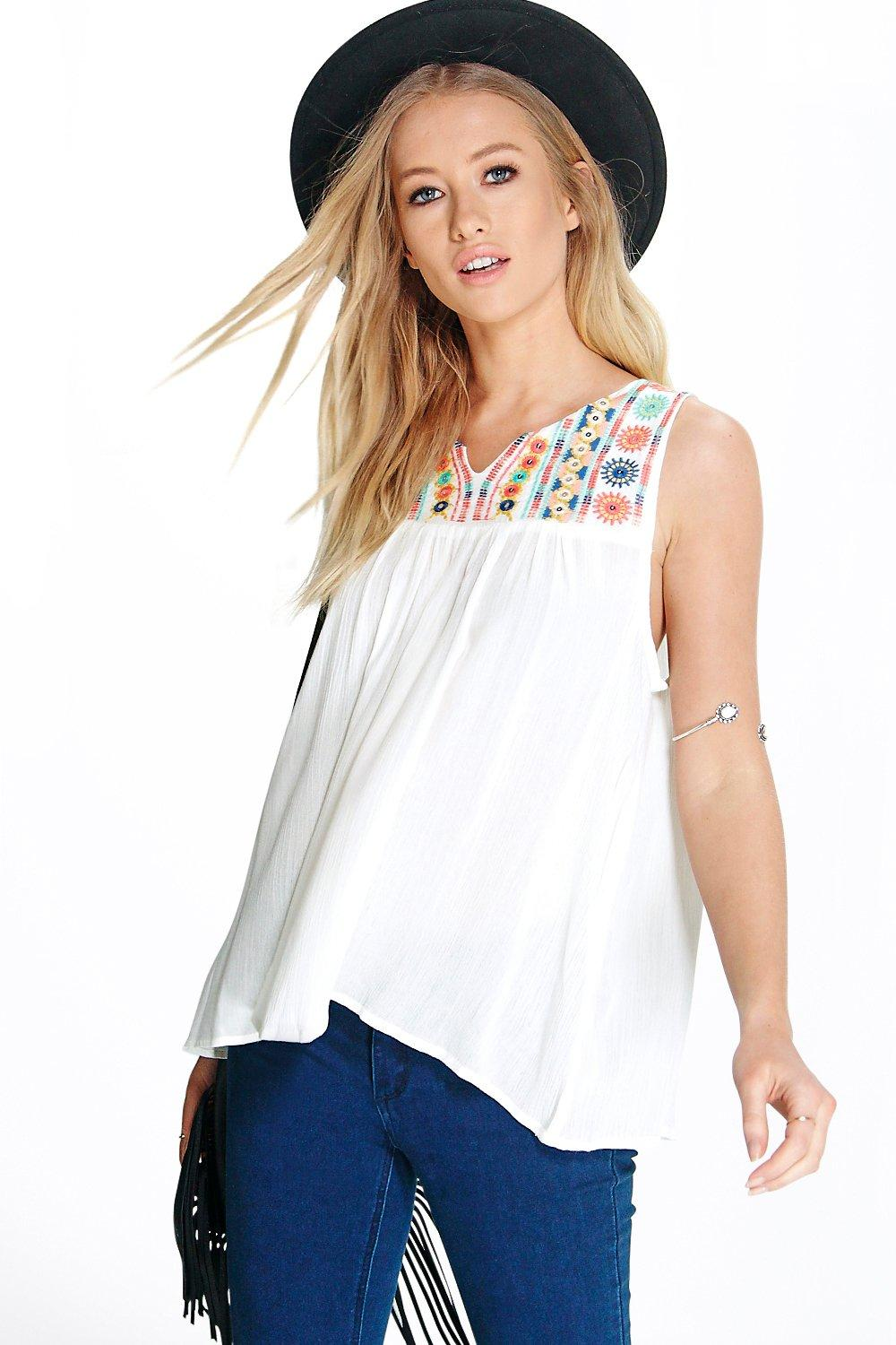 Eliza Ethnic Embroidered Cami