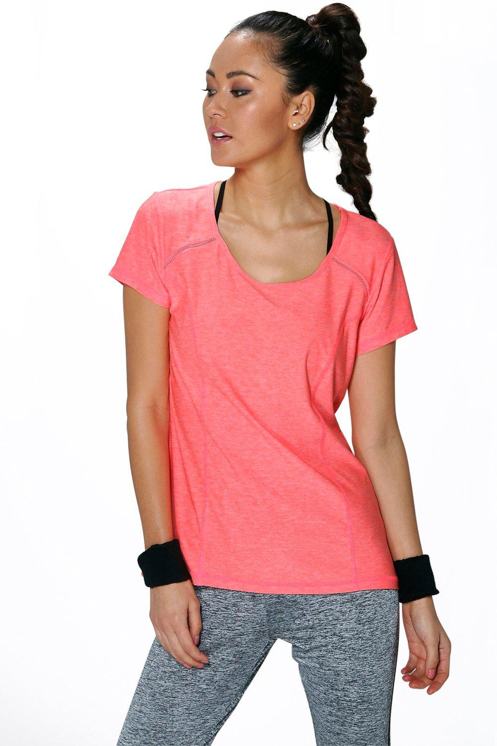 Maria Fit Breathable Shaped Sports TShirt