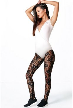 Robyn Dance Lace Stirrup Workout Legging