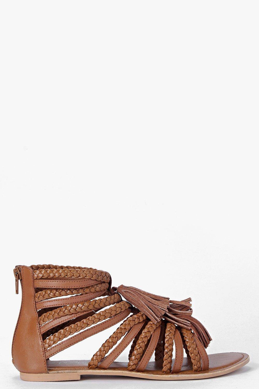 Boutique Sarah Multi Fringe Sandal