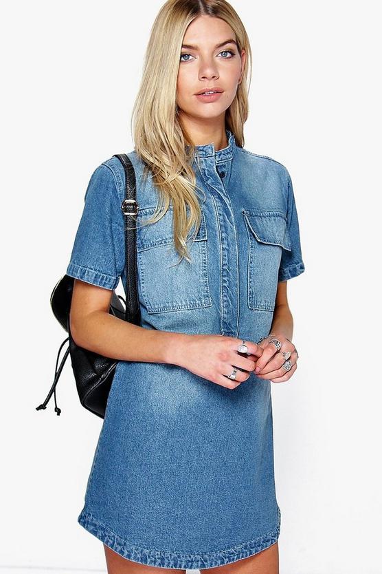 Brilliant Buttonup Cat Shirt  Women39s Short Sleeve Tailored Dress Shirt With