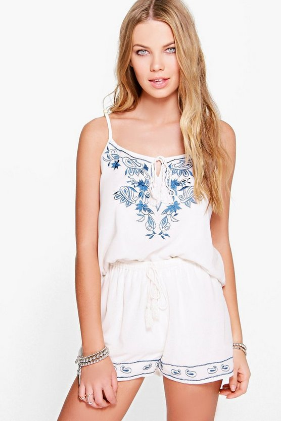 Loredana Embroidered Co-Ord Set