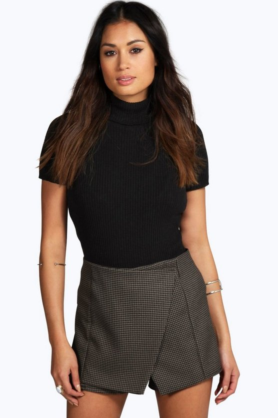 Lena Baby Dogtooth Short