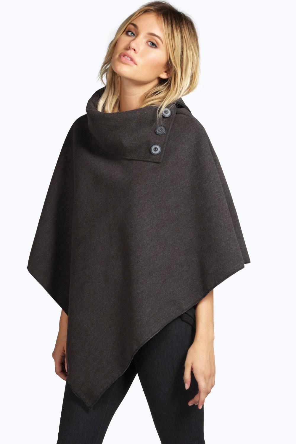 Julia Cape With Buttons