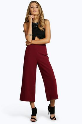 Martha Ankle Length Tailored Culottes