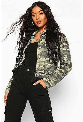 Denim Jackets | Shop Jean Jackets for Women Online | Boohoo - photo #16