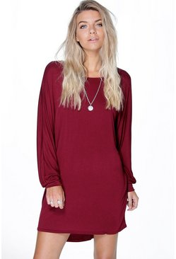 Magda Oversized Slouch Shift Dress
