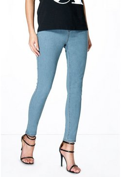 Julie 5 Pkt High Rise Ankle Grazer Skinny Jeans