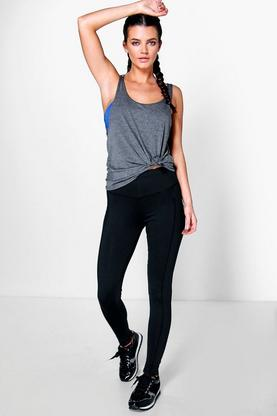 Nina Fit Performance Sports Running Legging