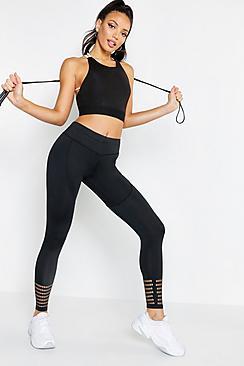 Eve Fit Performance Cut Hem Running Legging