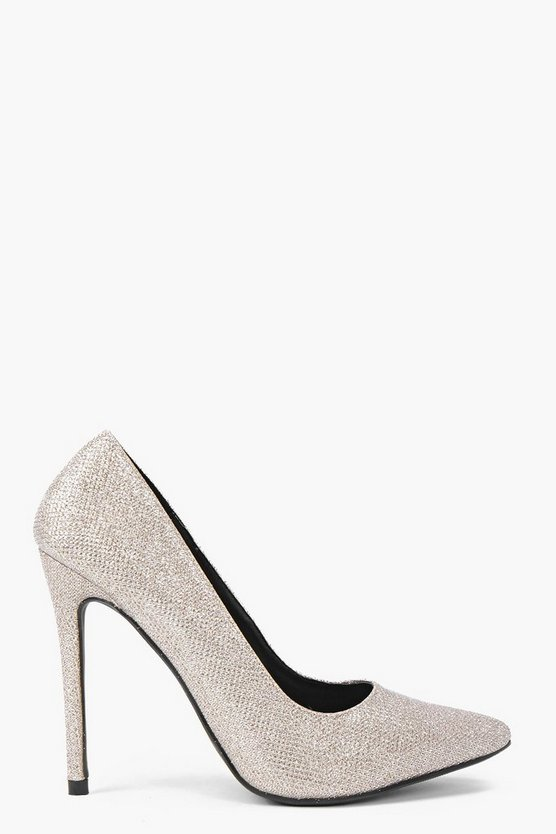 Aimee Shimmer Pointed Court