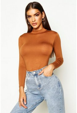 Libby Turtle Neck Long Sleeve Basic Body