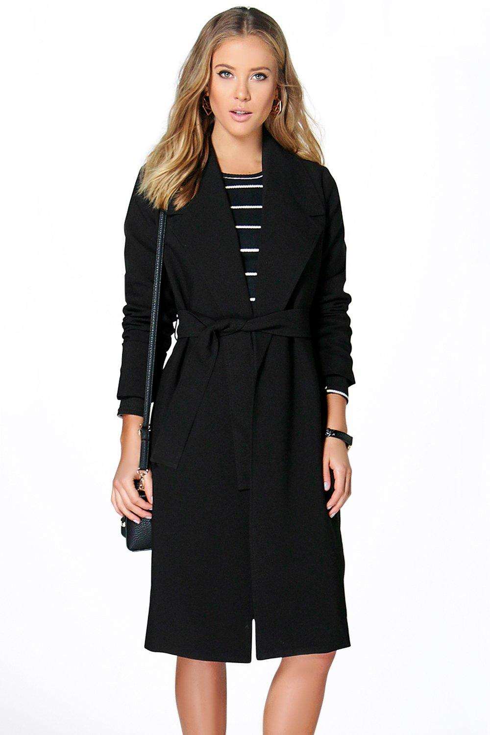 Lilly Tailored Belted Duster