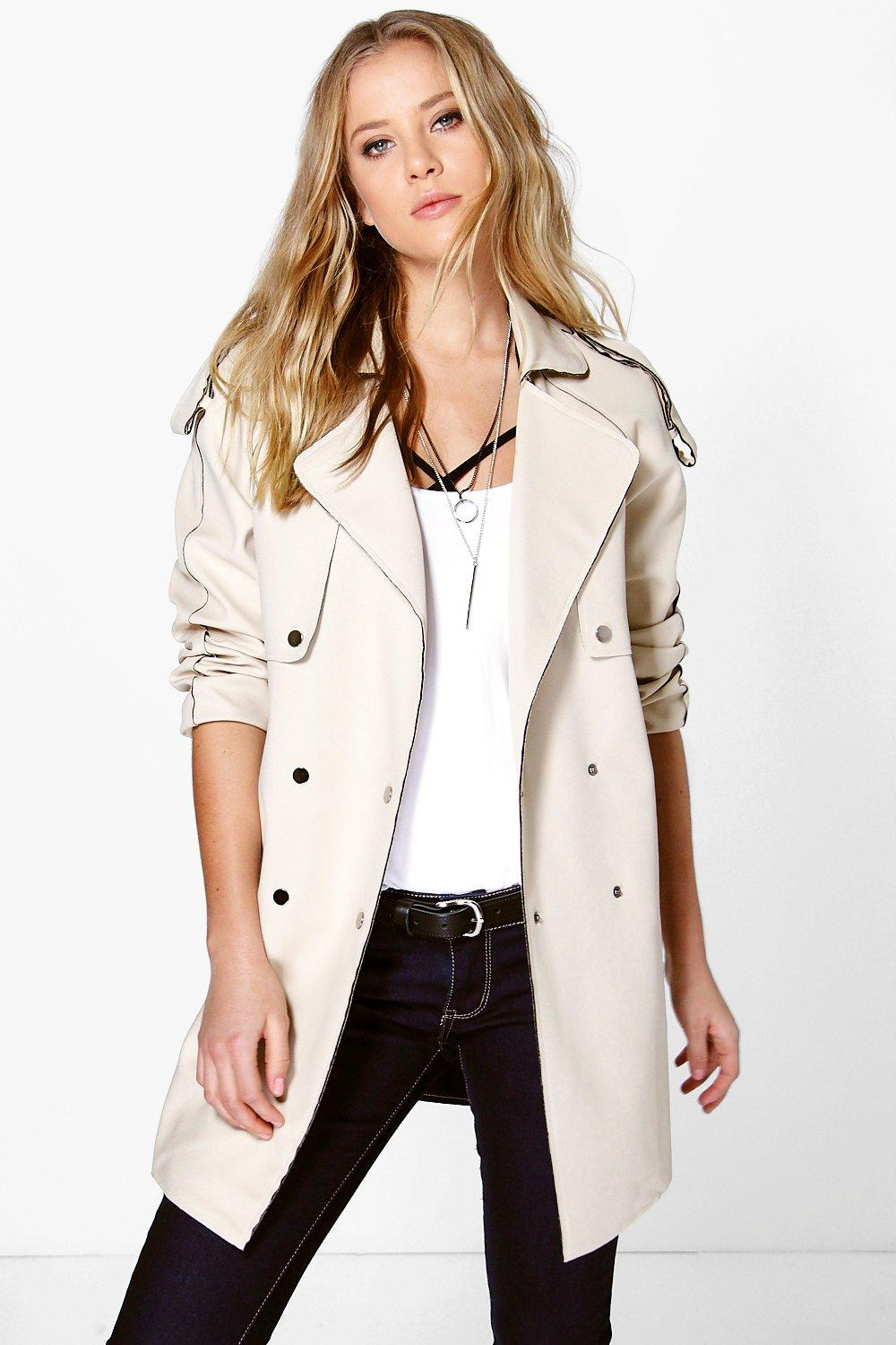 Boutique Beatrice Bonded Trench