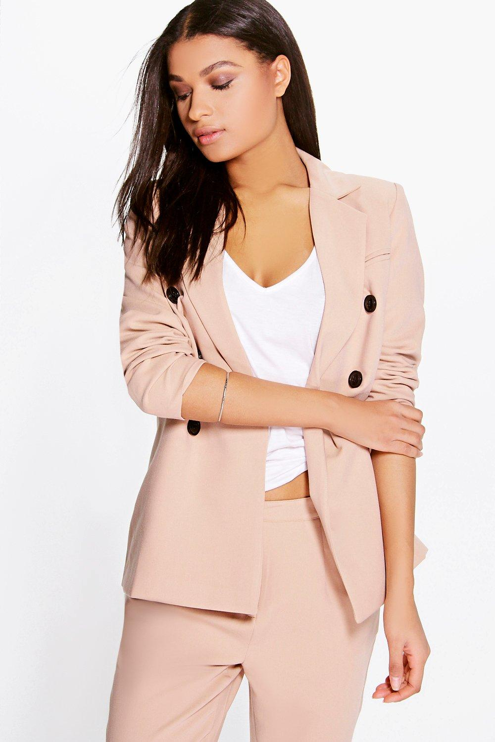 Boutique Libby Double Breasted Blazer